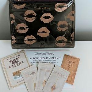 Charlotte Tilbury Sample Pack & Cosmetic Bag